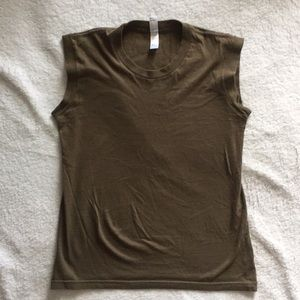 American Apparel Classic Girl muscle shirt